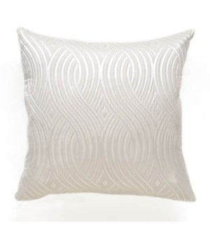"Amalfi - Ivory - Pillow - 22"" x 22"""