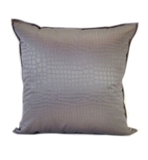 "Amazon - Pewter -  Pillow - 22"" x 22"""