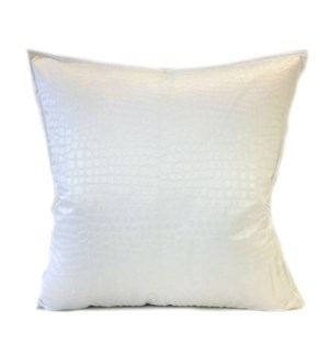 "Amazon - White -  Pillow - 22"" x 22"""