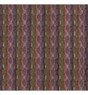 Ankara - Mulberry - Last Call Fabric