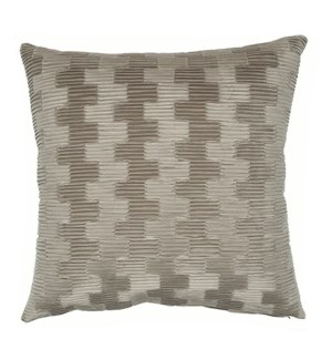 "Arendal - Mushroom - Pillow - 22"" x 22"""
