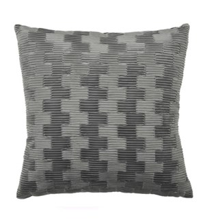 "Arendal - Slate - Pillow - 22"" x 22"""