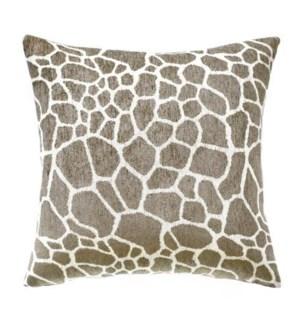 "Asmara - Sandstone - Pillow - 22"" x 22"""