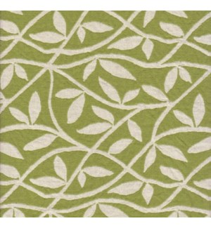 Atlantis - Leaf_Peridot - Last Call Fabric