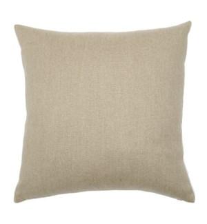 """Aurora - Natural -  Pillow - 22"""" x 22"""""""