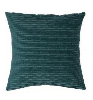 """Bassel - Peacock - Pillow - 22"""" x 22"""""""