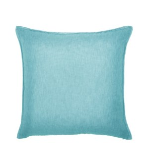 "Bedford - Aqua -  Pillow - 22"" x 22"""