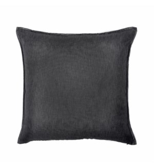 "Bedford - Black Ink -  Pillow - 22"" x 22"""