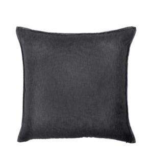 "Bedford - Black Ink -  Pillow - 22"" x 22"""