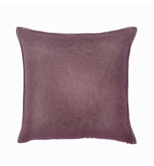 "Bedford - Claret -  Pillow - 22"" x 22"""