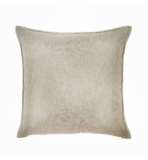 "Bedford - Flax -  Pillow - 22"" x 22"""