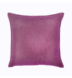 "Bedford - Raspberry -  Pillow - 22"" x 22"""