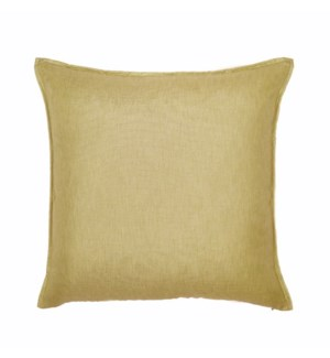 "Bedford - Straw -  Pillow - 22"" x 22"""