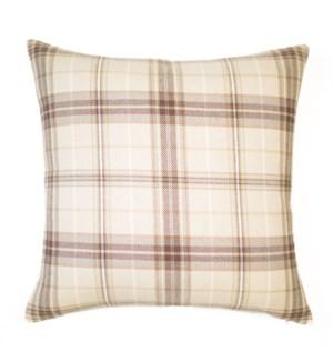 """Bennett - Oyster - Pillow - 22"""" x 22"""""""