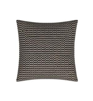 """Bergen - Black -  Toss Pillow - 26"""" x 26"""""""