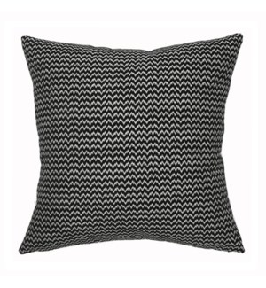 "Bergen - Black -  Pillow - 22"" x 22"""