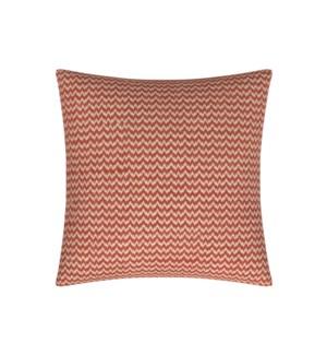 """Bergen - Coral -  Toss Pillow - 26"""" x 26"""""""