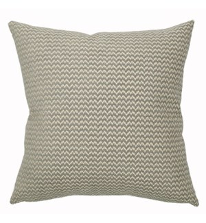 "Bergen - Platinum -  Pillow - 22"" x 22"""
