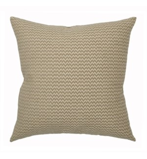 "Bergen - Taupe -  Pillow - 22"" x 22"""