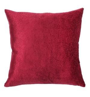 """Beroun - Ruby -  Pillow - 22"""" x 22"""""""