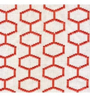 Chainstitch - Rojo - Last Call Fabric