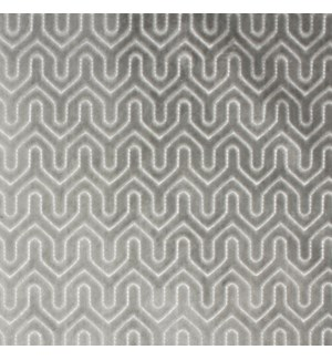 Chilton* - Silver - Fabric By the Yard