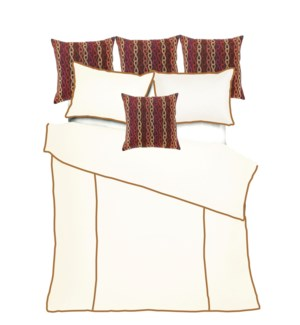 Churchill Linen - Ivory with Bronze Bedset - King