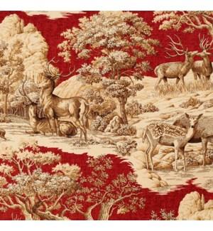 Devon - Garnet - Fabric By the Yard