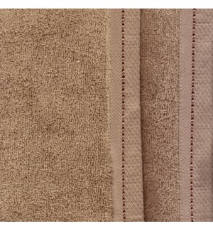 TOWELS - DIAMOND - Taupe