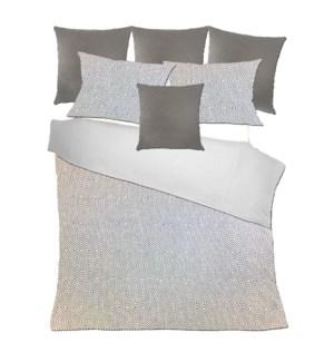 Drumheller - Grey Bedset - King