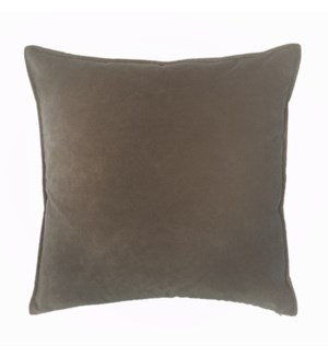 "Franklin Velvet - Anchovy -  Pillow - 22"" x 22"""