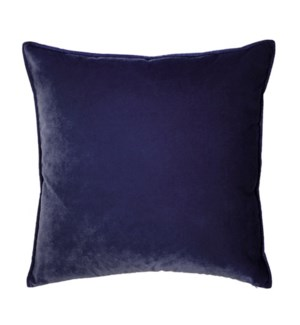 "Franklin Velvet - Aubergine -  Pillow - 22"" x 22"""