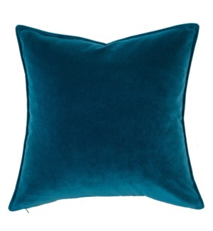 "Franklin Velvet - Blue Oasis -  Pillow - 22"" x 22"""