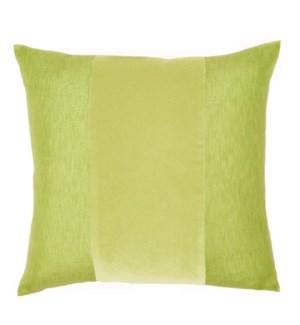 """Franklin Velvet - Citrus -  BAND Pillow - 22"""" x 22"""""""