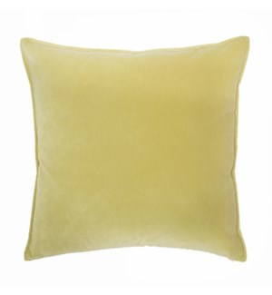 "Franklin Velvet - Citrus -  Pillow - 22"" x 22"""