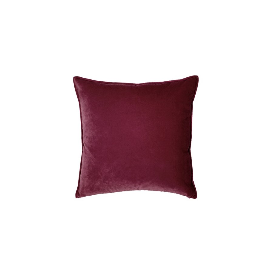 "Franklin Velvet - Cordovan -  Pillow - 12"" x 26"""