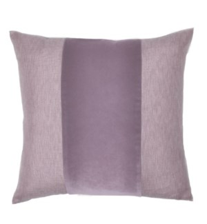 "Franklin Velvet - Crocus -  BAND Pillow - 22"" x 22"""