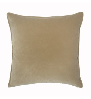 "Franklin Velvet - Custard -  Pillow - 22"" x 22"""