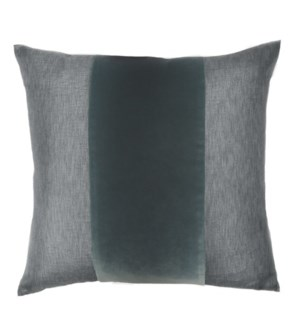 "Franklin Velvet - Cyclone -  BAND Pillow - 22"" x 22"""