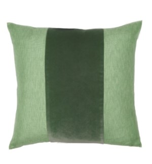 "Franklin Velvet - Dublin -  BAND Pillow - 22"" x 22"""