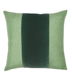 "Franklin Velvet - Elf -  BAND Pillow - 22"" x 22"""
