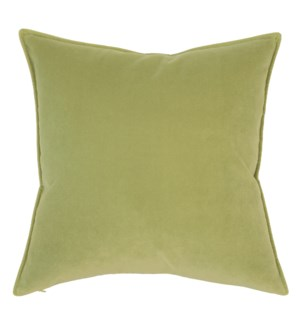 "Franklin Velvet - Eucalyptus -  Pillow - 22"" x 22"""