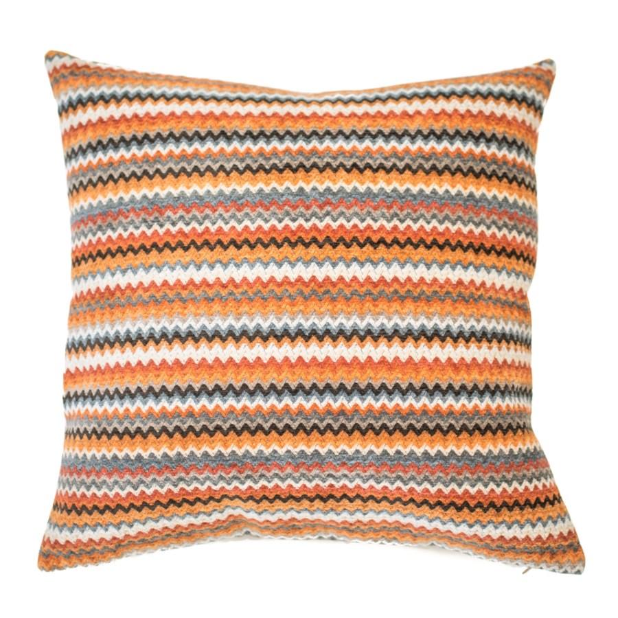 "Jasper - Terracotta - Pillow - 26"" x 26"""