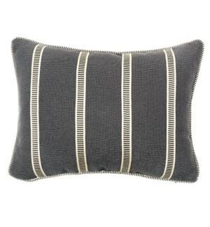 Ladder Pillow - Morrison Charcoal