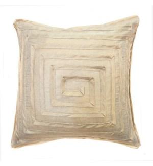 """Monte Carlo - Gold Trophy - MAZE Pillow - 22"""" x 22"""""""