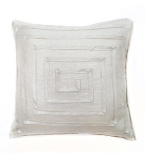 """Monte Carlo - Silver Medal - MAZE Pillow - 22"""" x 22"""""""