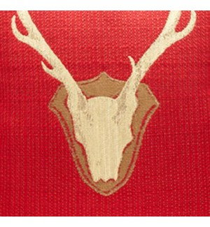 Oh Deer * - Red - Fabric By the Yard