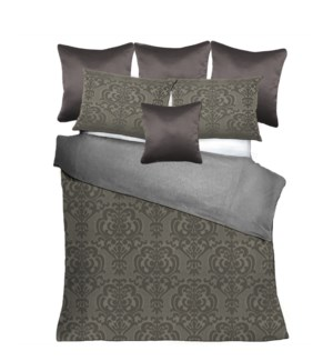 Ostrava - Pewter Bedset - King