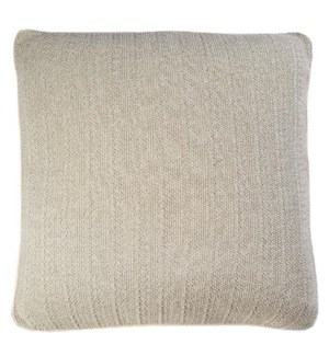 "Pebble Knit - Flax - Pillows - 20"" x 20"""