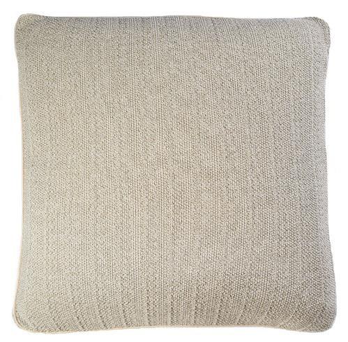"Pebble Knit - Flax - Pillow - 26"" x 26"""